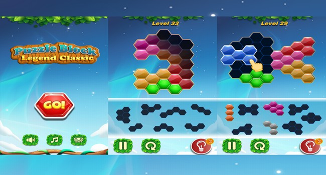 Puzzle Block Legend Classic Screenshot
