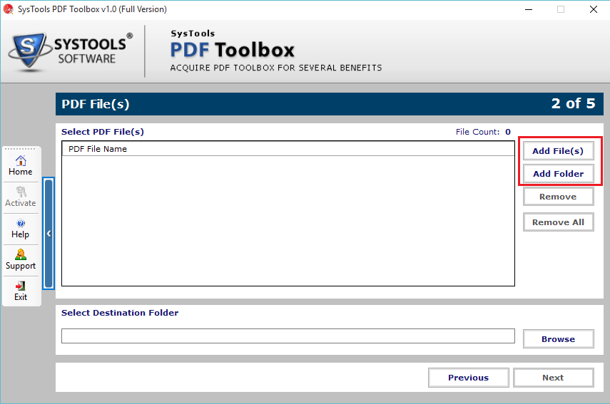 SysTools PDF ToolBox Screenshot 2
