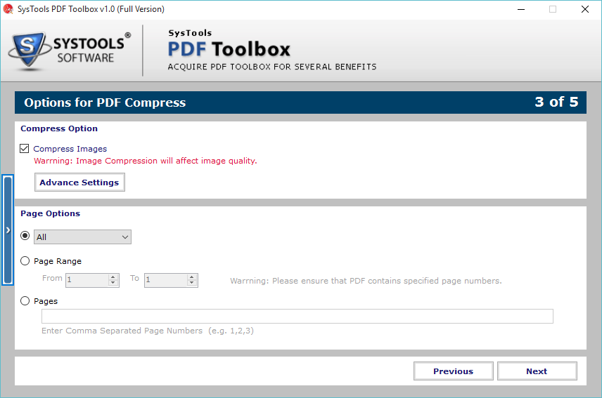SysTools PDF ToolBox Screenshot 3