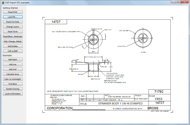 CAD VCL: 2D/3D CAD in Delphi/C++Builder Screenshot