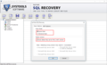 SysTools SQL Recovery 2