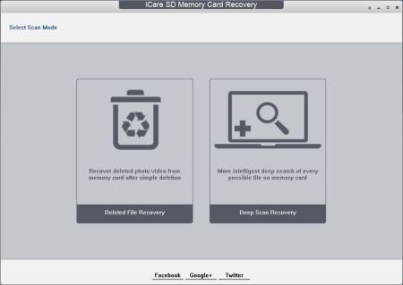 Free SD Memory Card Recovery Screenshot
