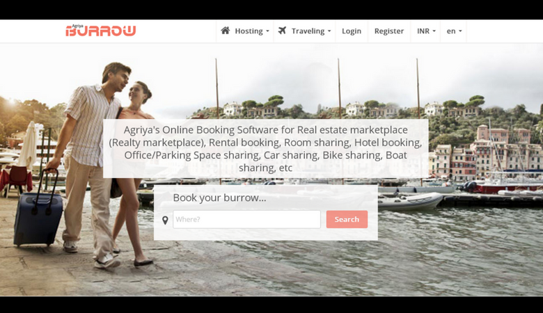 Airbnb Clone - Vacation Rental Software Screenshot 1