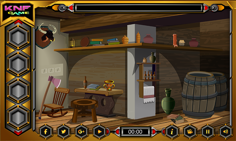 Knf Village Wooden House Escape Screenshot