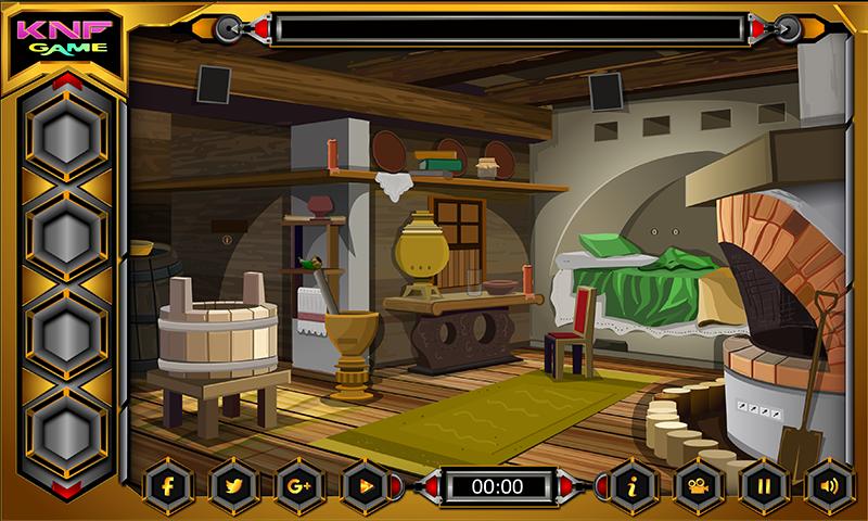 Knf Village Wooden House Escape Screenshot 2