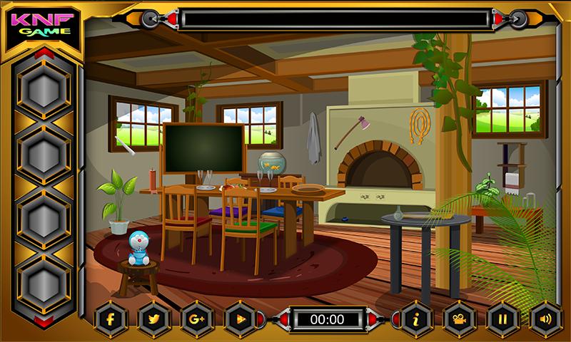 Knf Village Wooden House Escape Screenshot 3
