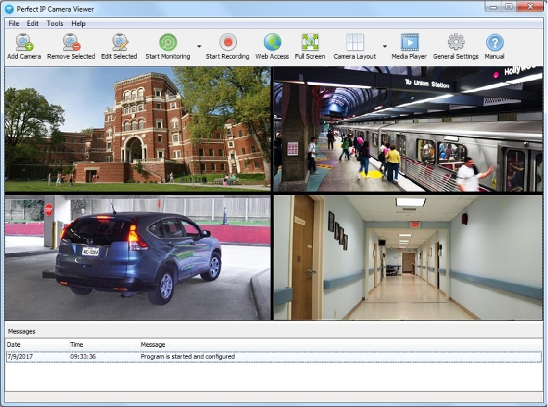 Perfect IP Camera Viewer Screenshot 1