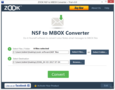 ZOOK NSF to MBOX Converter 2