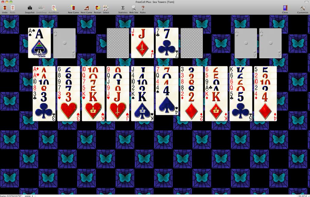 FreeCell Plus Screenshot 2