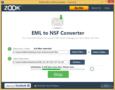 ZOOK EML to NSF Converter 2