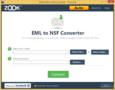 ZOOK EML to NSF Converter 1