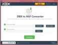 ZOOK DBX to NSF Converter 1