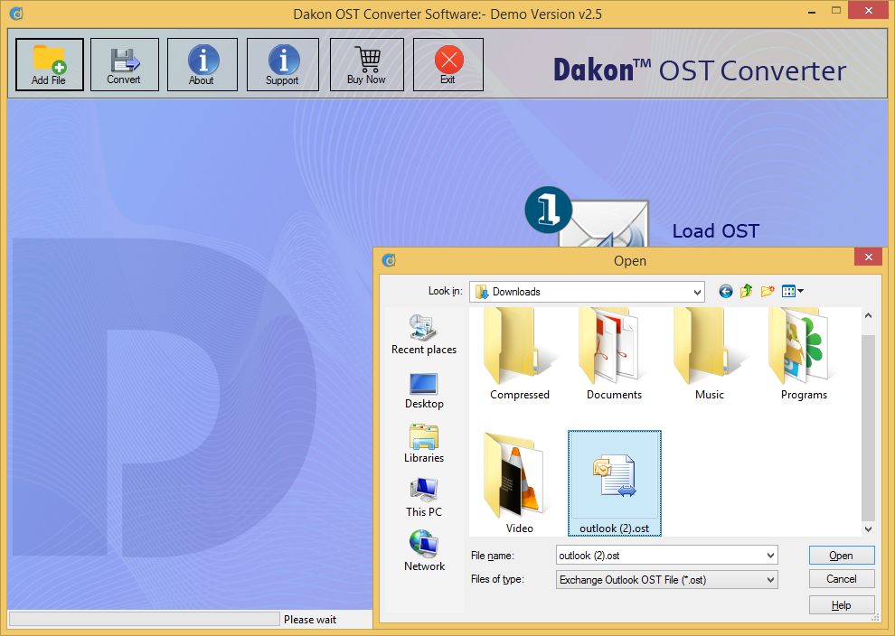 Dakon OST Converter Screenshot