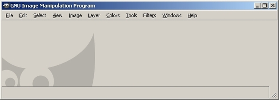 Portable GIMP (32-bit) Screenshot