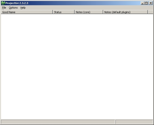 Portable Project64 Screenshot 1