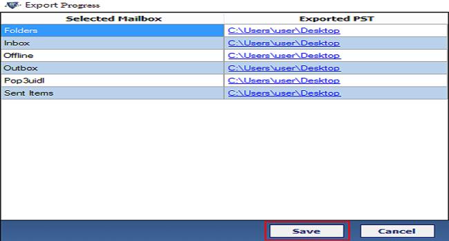 SysTools DBX Converter Screenshot 4