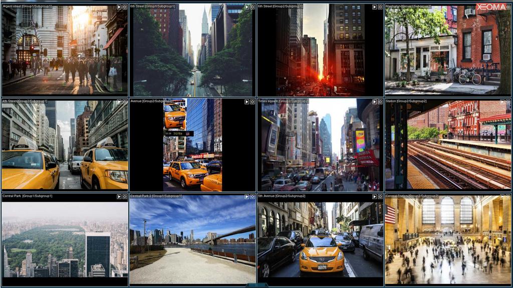 Xeoma Video Surveillance Software, Windows 32 bit Screenshot