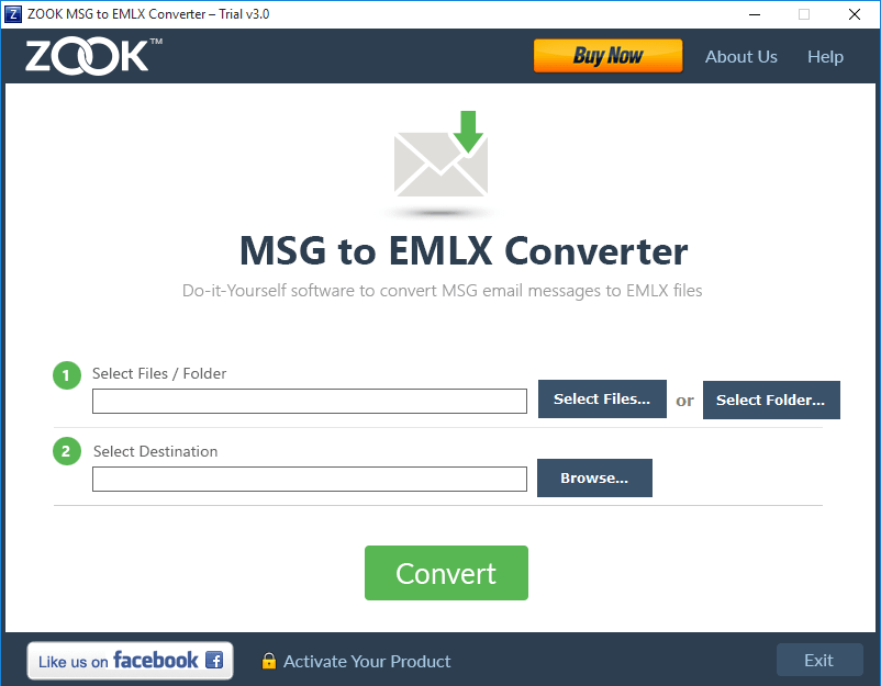 ZOOK MSG to EMLX Converter