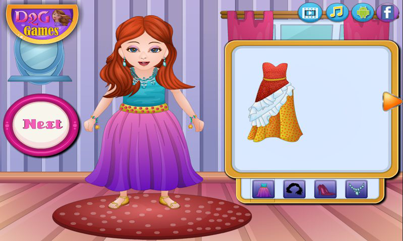 Dress up - Sena Birthday Dress Up Screenshot