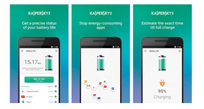 Kaspersky Battery Life Screenshot