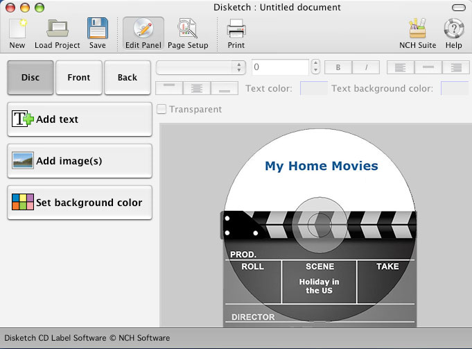 Disketch Plus for Mac Screenshot