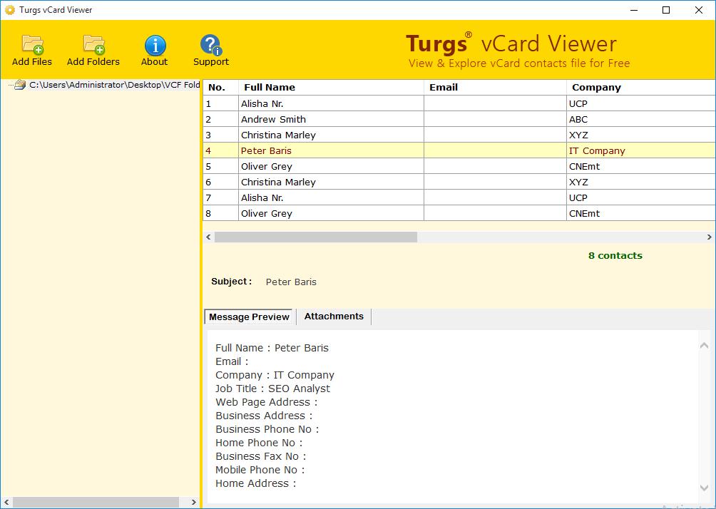 Download vCard Viewer 2 0