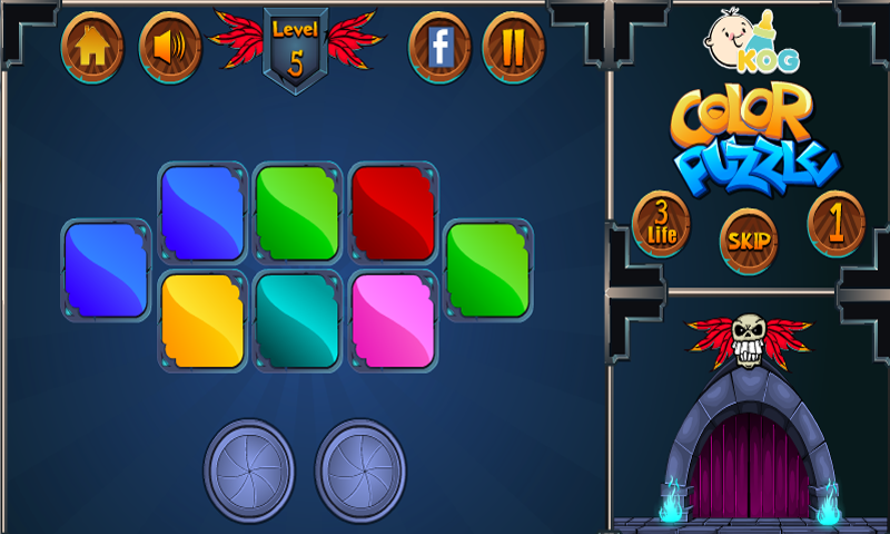 Color Puzzle games for kids Screenshot