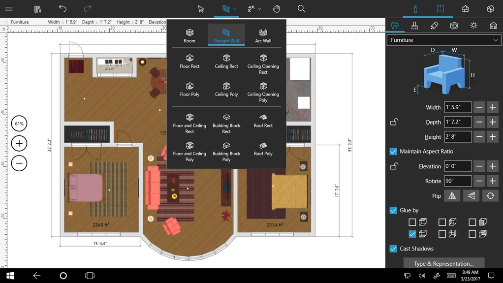Download live home 3d pro 3 2 for Home design 3d gratis italiano
