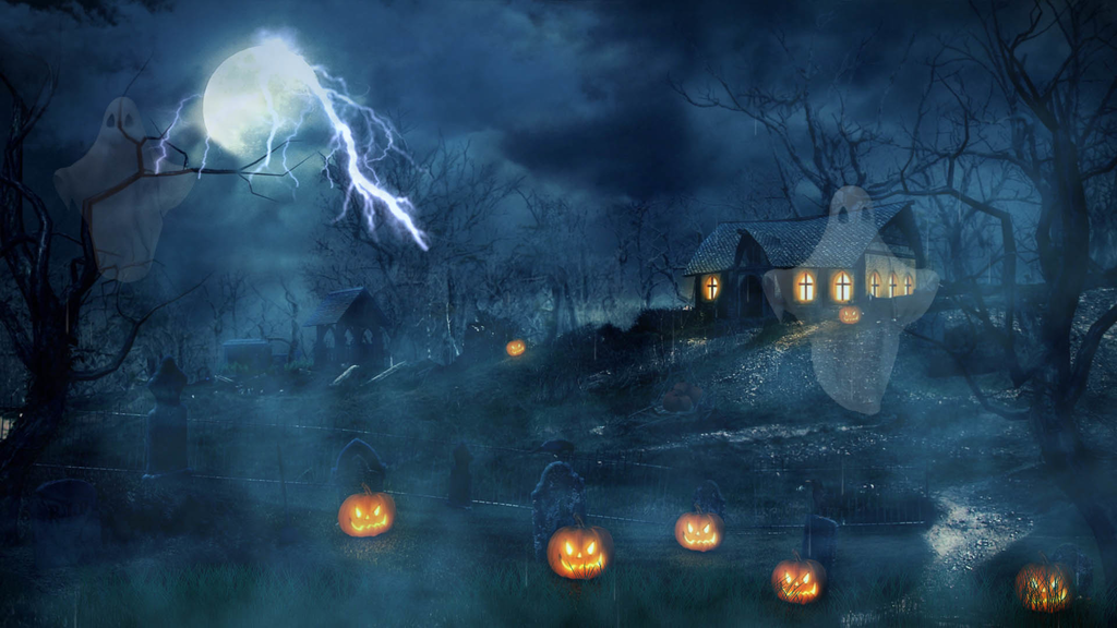 download halloween dusk screensaver 2 0