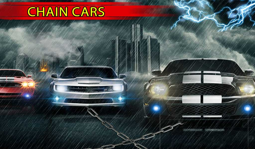 Chained Cars Rival 3D : Stunt Driver 2017 Screenshot