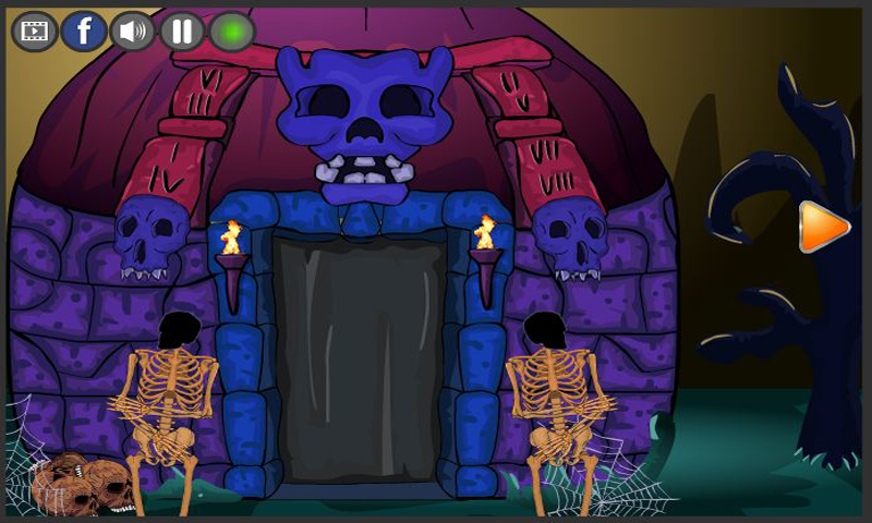 New Escape Games 187 - Halloween Party 2017 Screenshot