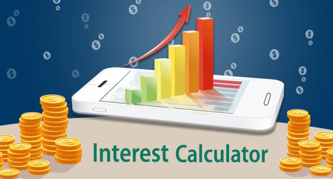 Interest calculator & Financial calculator Screenshot