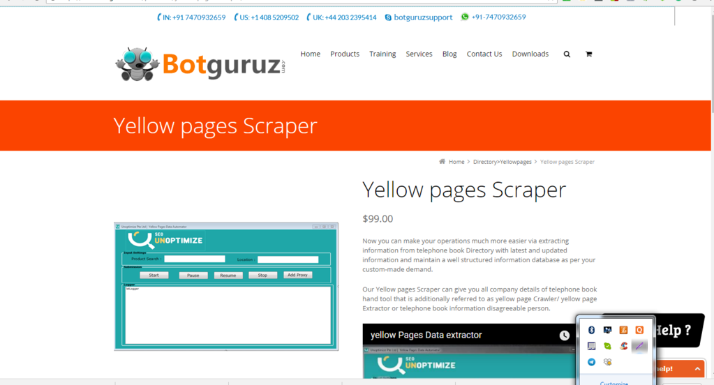 Download Yellow Pages Scraper 1 0 0 2