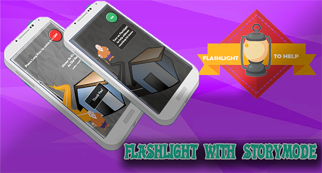 Flashlight to help Screenshot