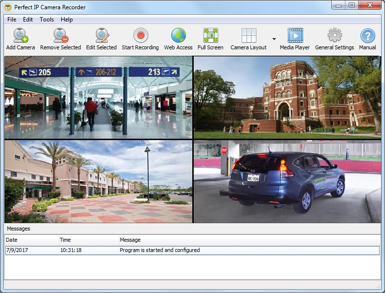 Download Perfect IP Camera Recorder 4 0