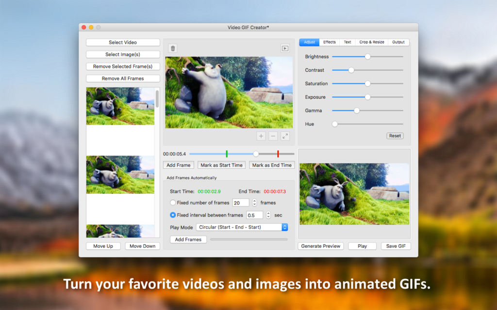 Video GIF Creator Screenshot