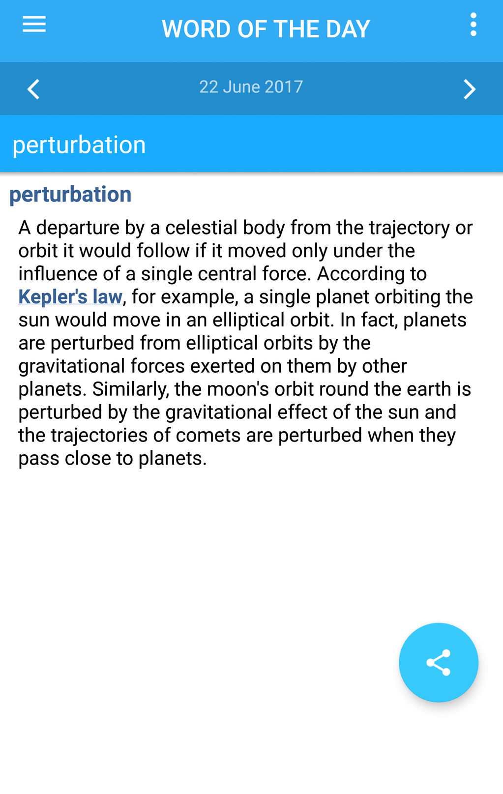 Oxford Dictionary of Physics Screenshot