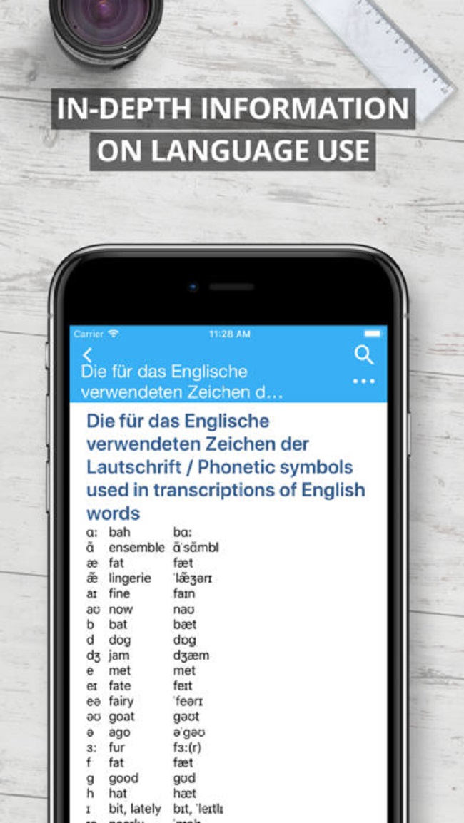 Oxford German Dictionary 2017 FREE Screenshot