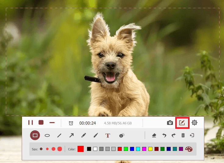TuneFab Screen Recorder Screenshot