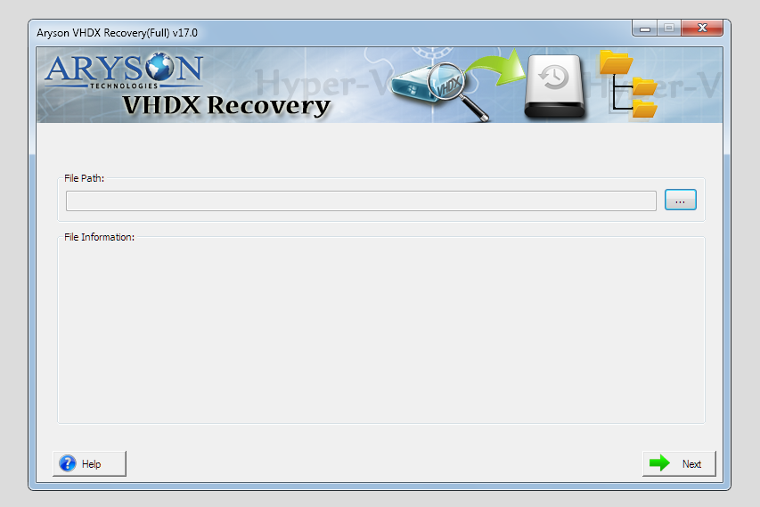 Download Aryson Hyper-V Recovery 17 0