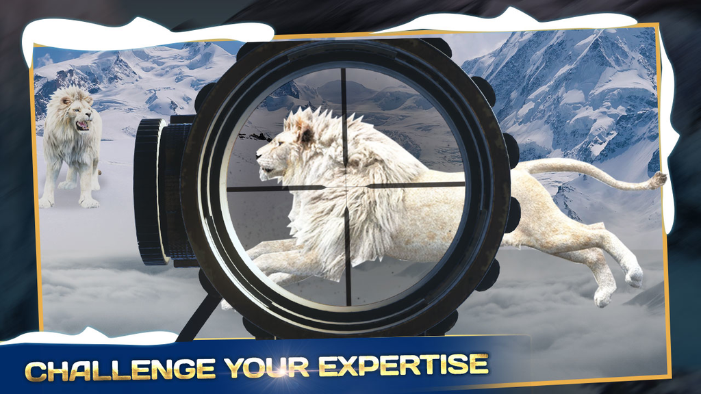 Angry Wild Lion Animal Hunting : Adventure Game Screenshot