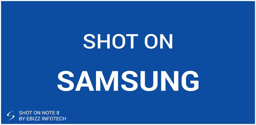 ShotOn for Samsung: Auto Add Shot on Photo Stamp Screenshot