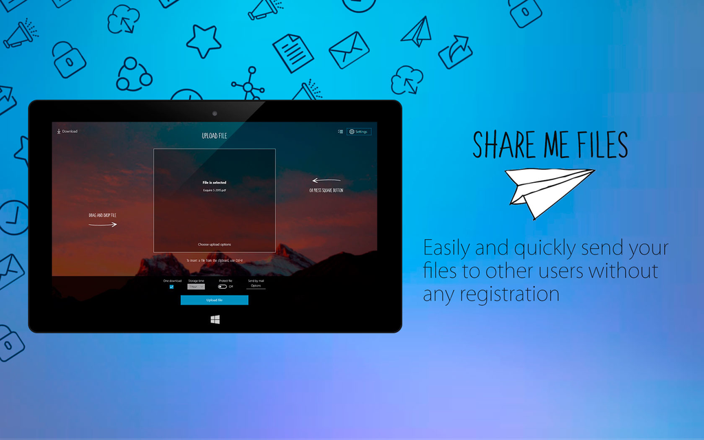Share me Files Screenshot