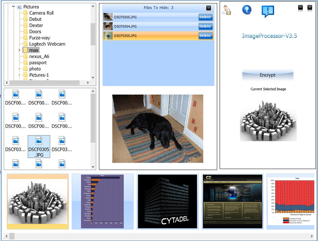 IMProcessor Screenshot