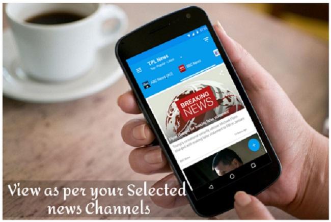 TPL News: Top Popular and Latest News Headlines Screenshot