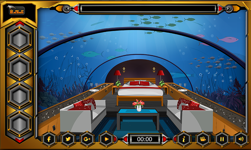 Knf Underwater Restaurant Escape Screenshot