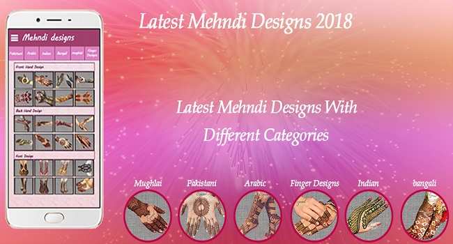 Latest Mehndi designs 2018:Mughlai Mehndi Design Screenshot
