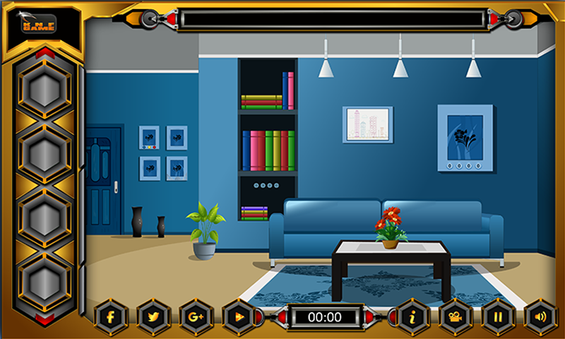 Knf Blue Room Escape Screenshot