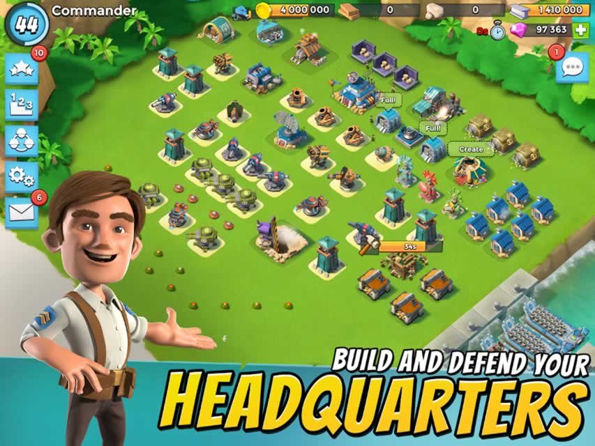 Boom Beach Screenshot
