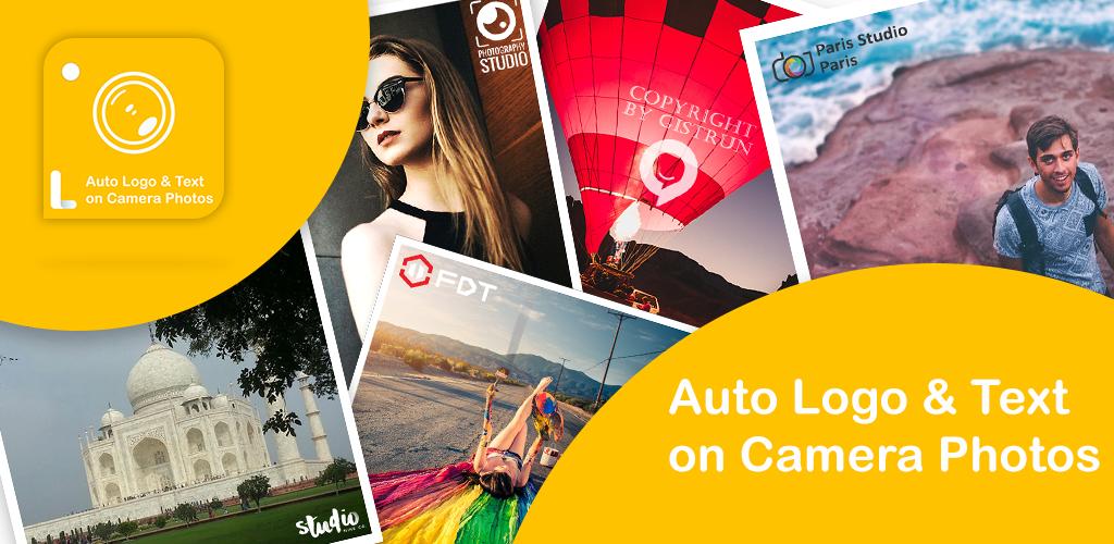 Auto Add Logo Copyright with Text on Camera Photos Screenshot